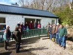 Residents meet at the Canna shop