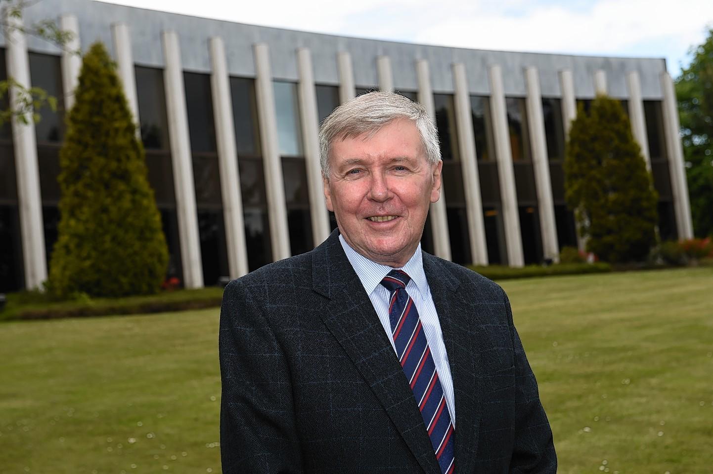 Provost of Aberdeenshire Hamish Vernal