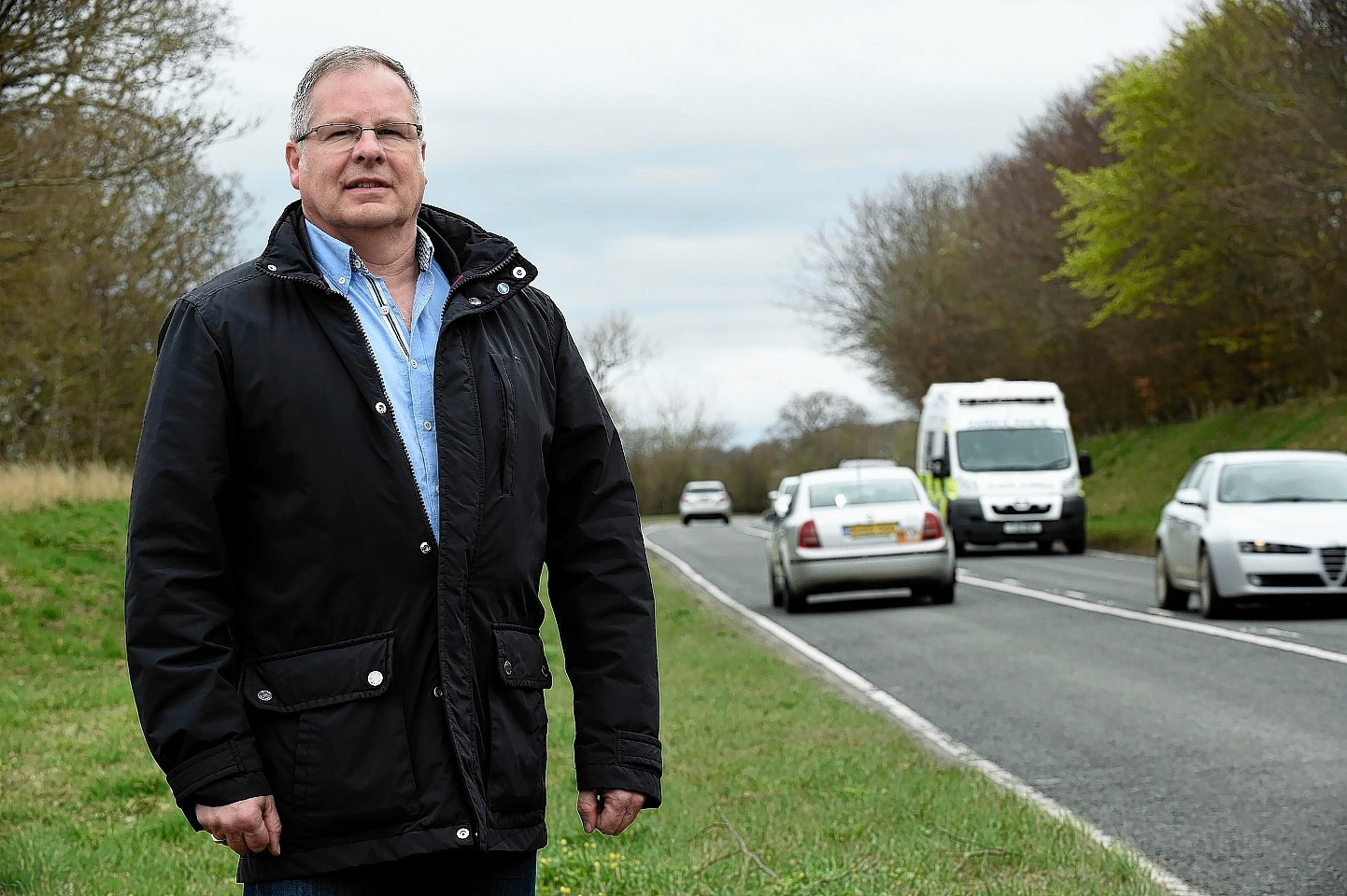 Councillor John Cox has welcomed progress on the A947 improvement strategy.