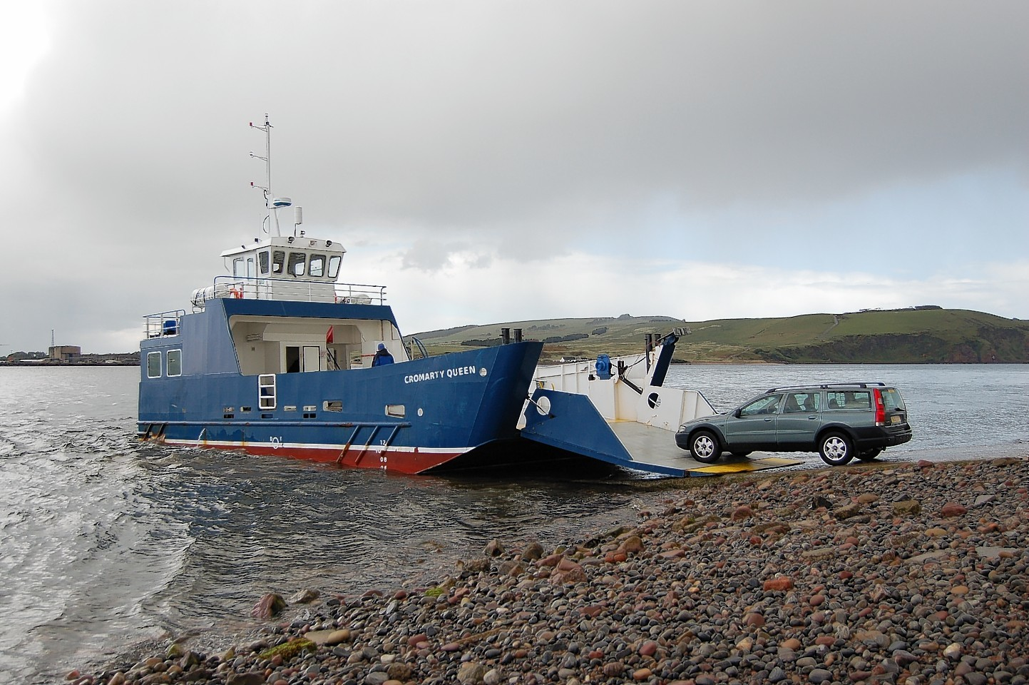 The Cromarty to Nigg ferry