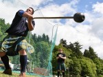 A record 2,500 people showed up for the 39th Drumtochty Highland Games on Saturday. Picture by Colin Rennie