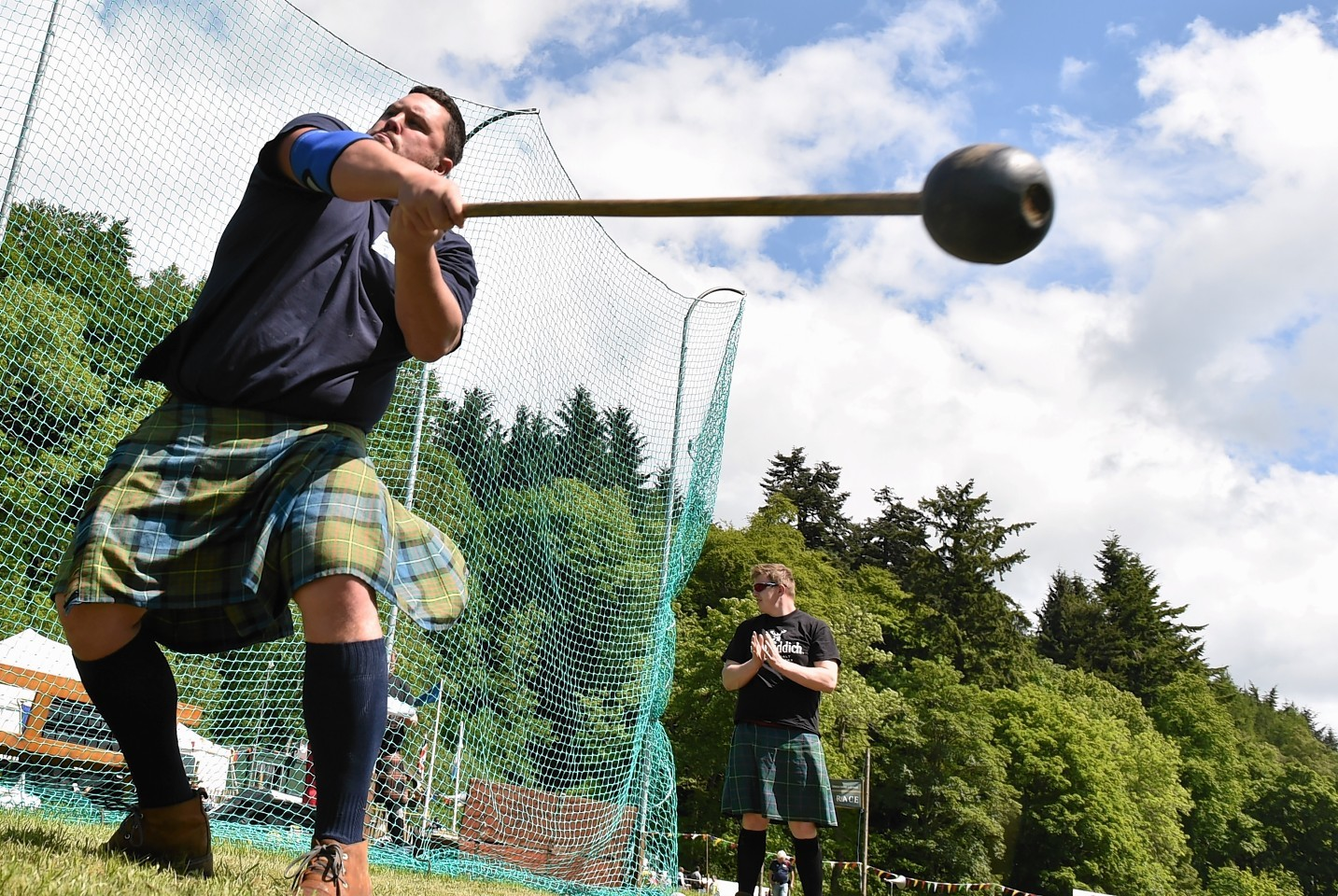 VIDEO Thousands enjoy 39th Drumtochty Highland Games