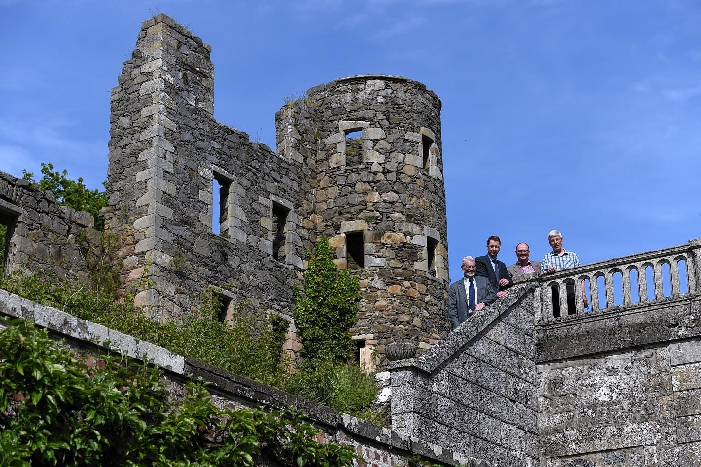 Ellon's secret Castle Gardens