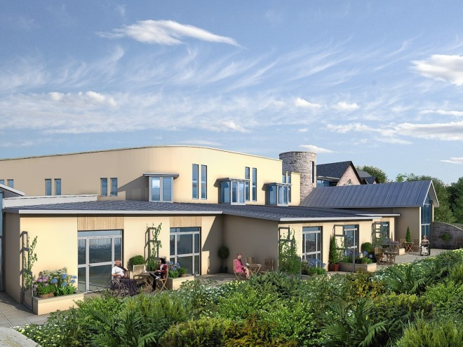 Work is underway to build a new Highland Hospice building