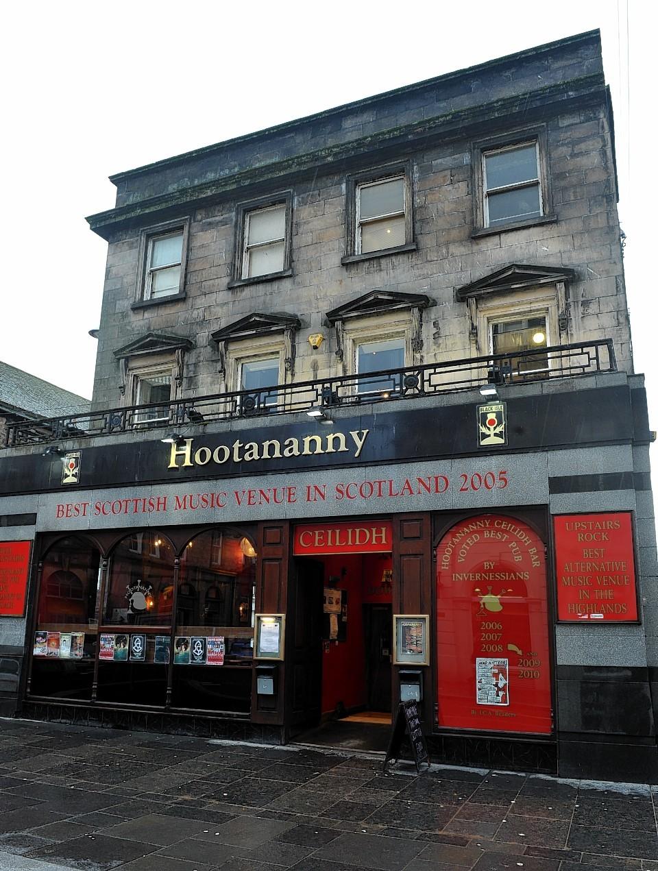Hootananny on  Church Street, Inverness