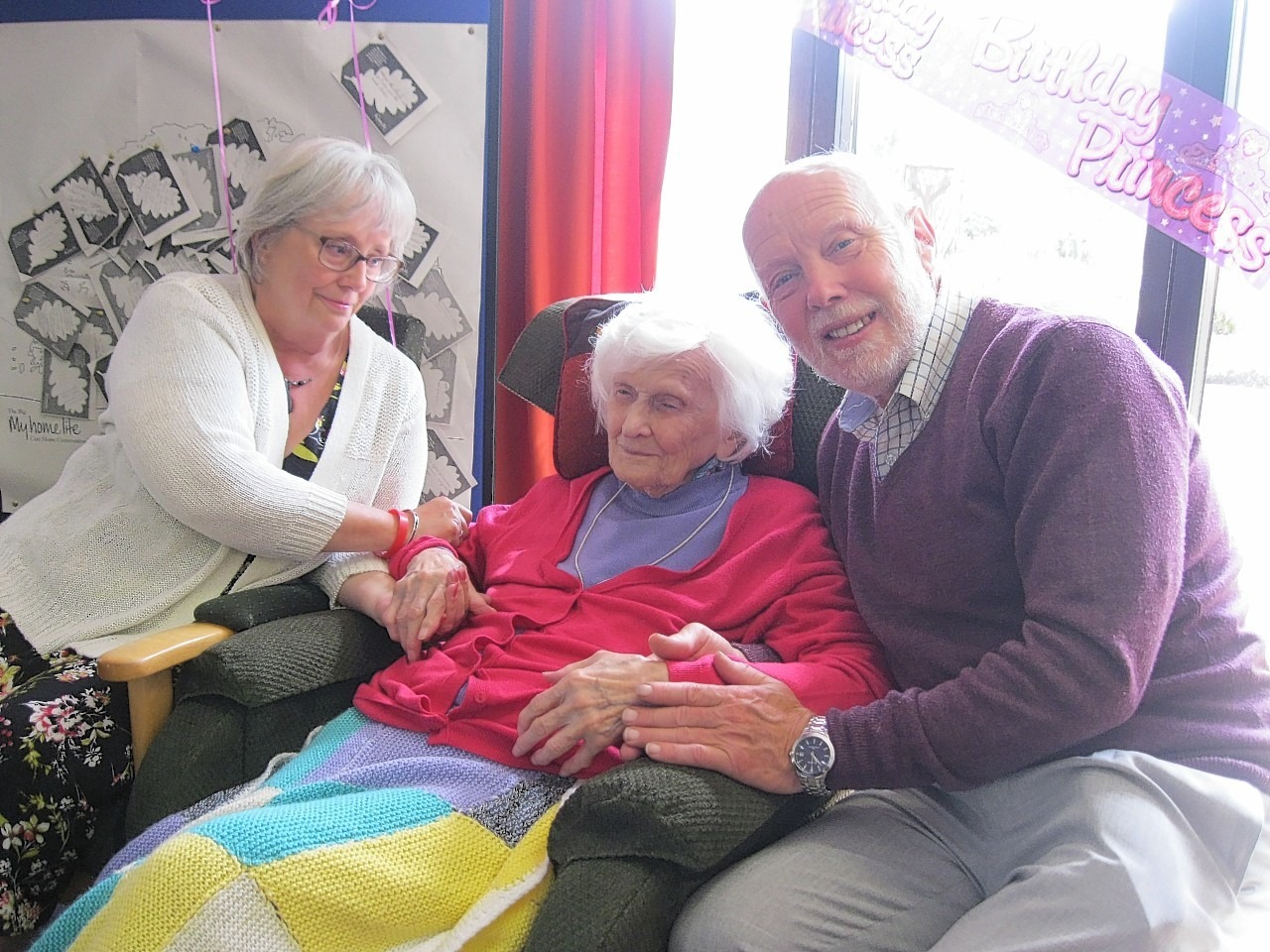 Irene Chapman celebrates her 109th birthday with family