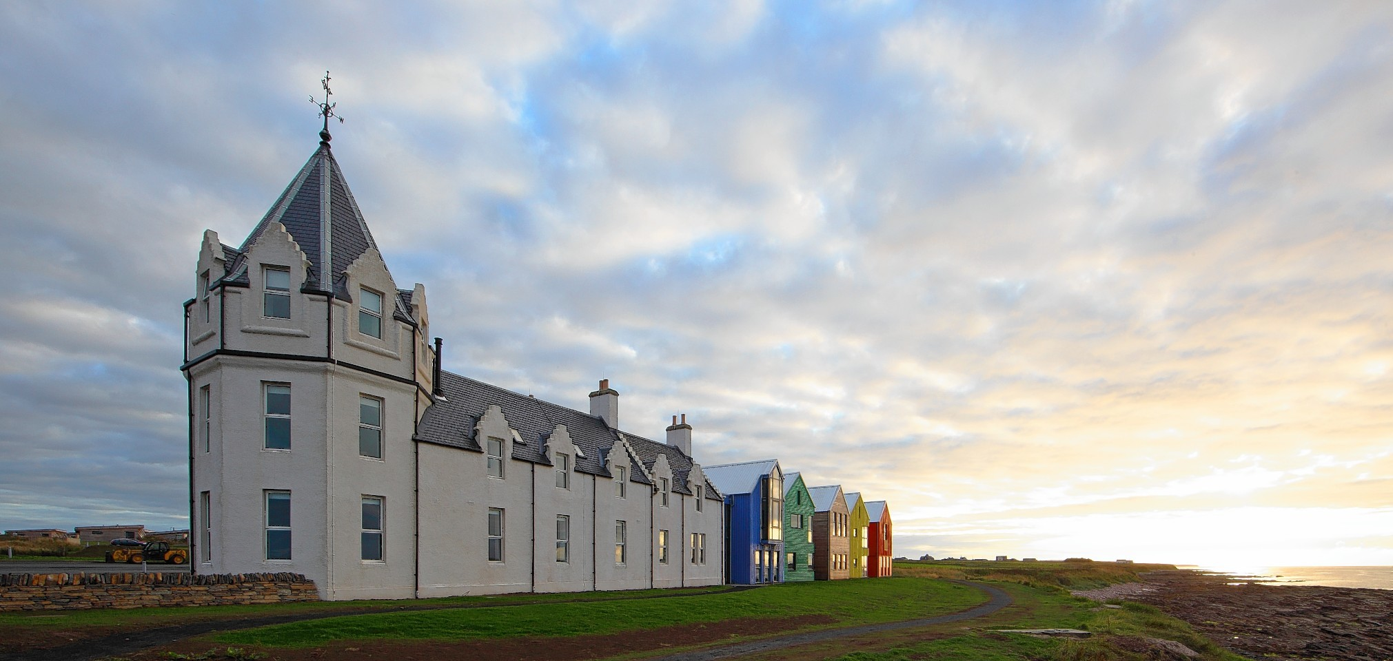 The plans for John O'Groats have been drawn up by Natural Retreats, which has already refurbished the John O'Groats Hotel.