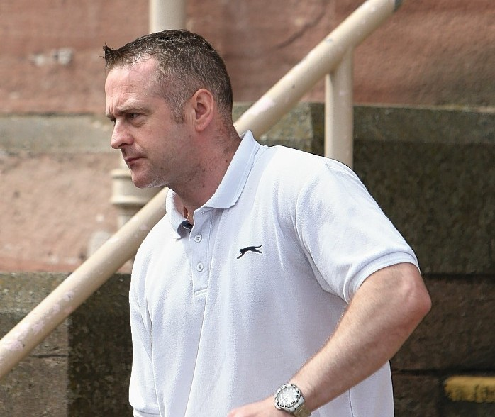 Joseph Foy leaves Inverness Sheriff Court