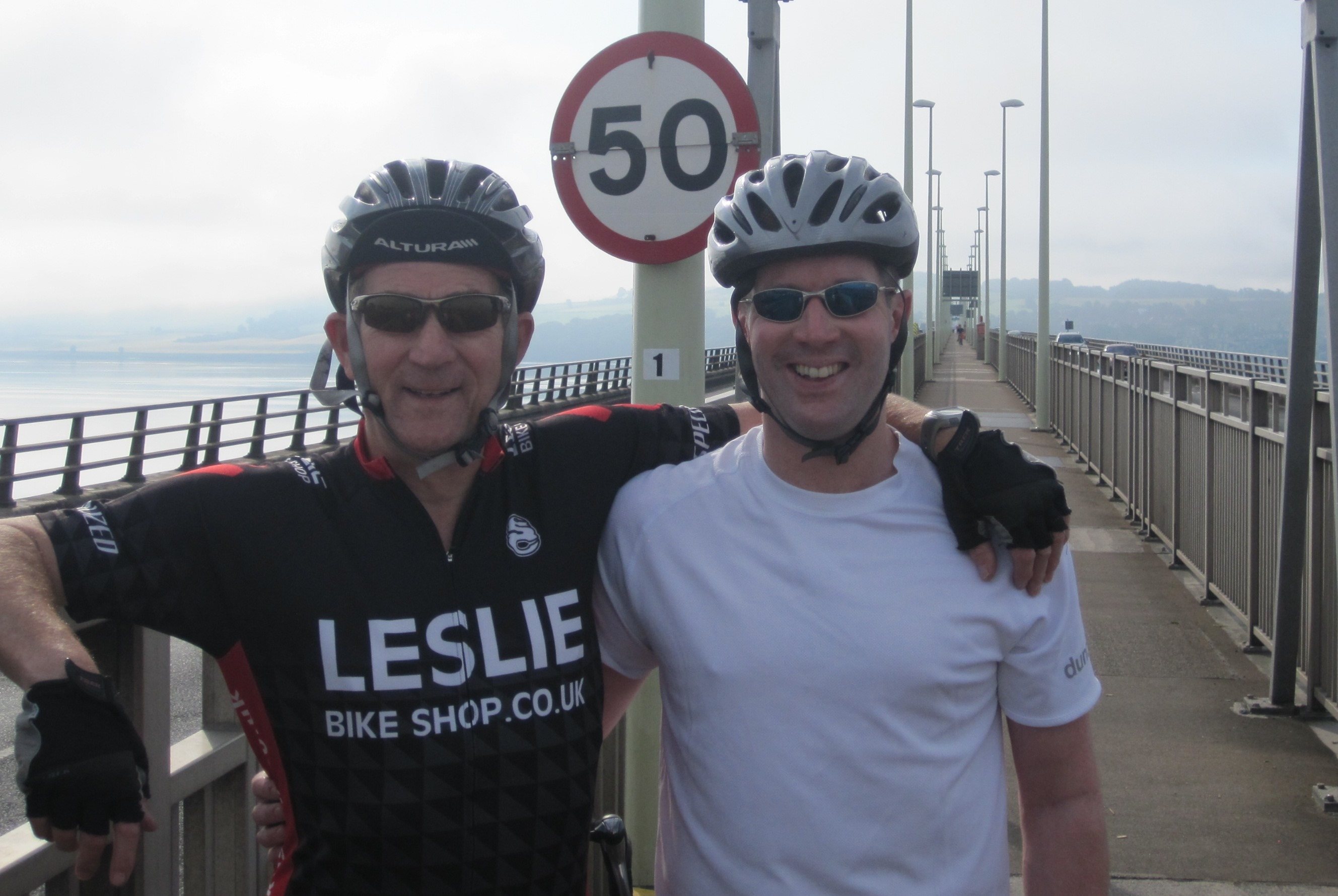 Rob and Peter Leslie
