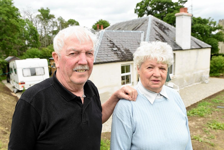Lillie and Jimmy Bryan of Kiltarlity near Beauly