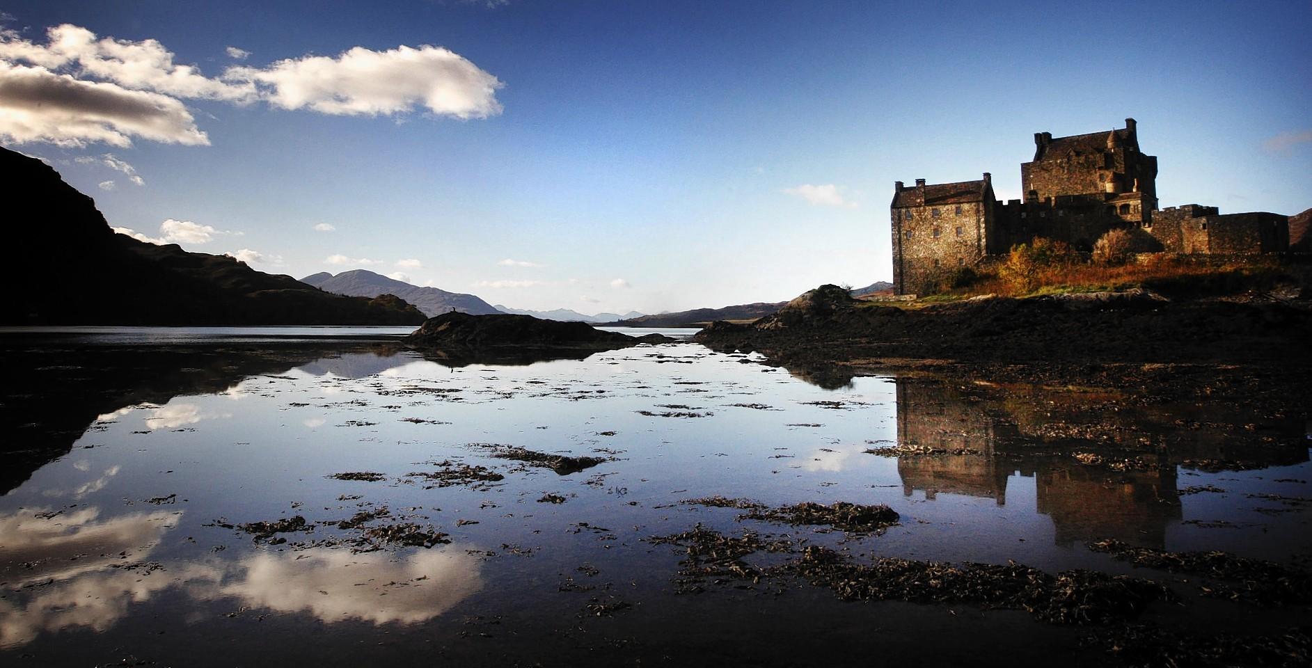 Eilean Donan Castle in Loch Duich. Credit: Danny Lawson.