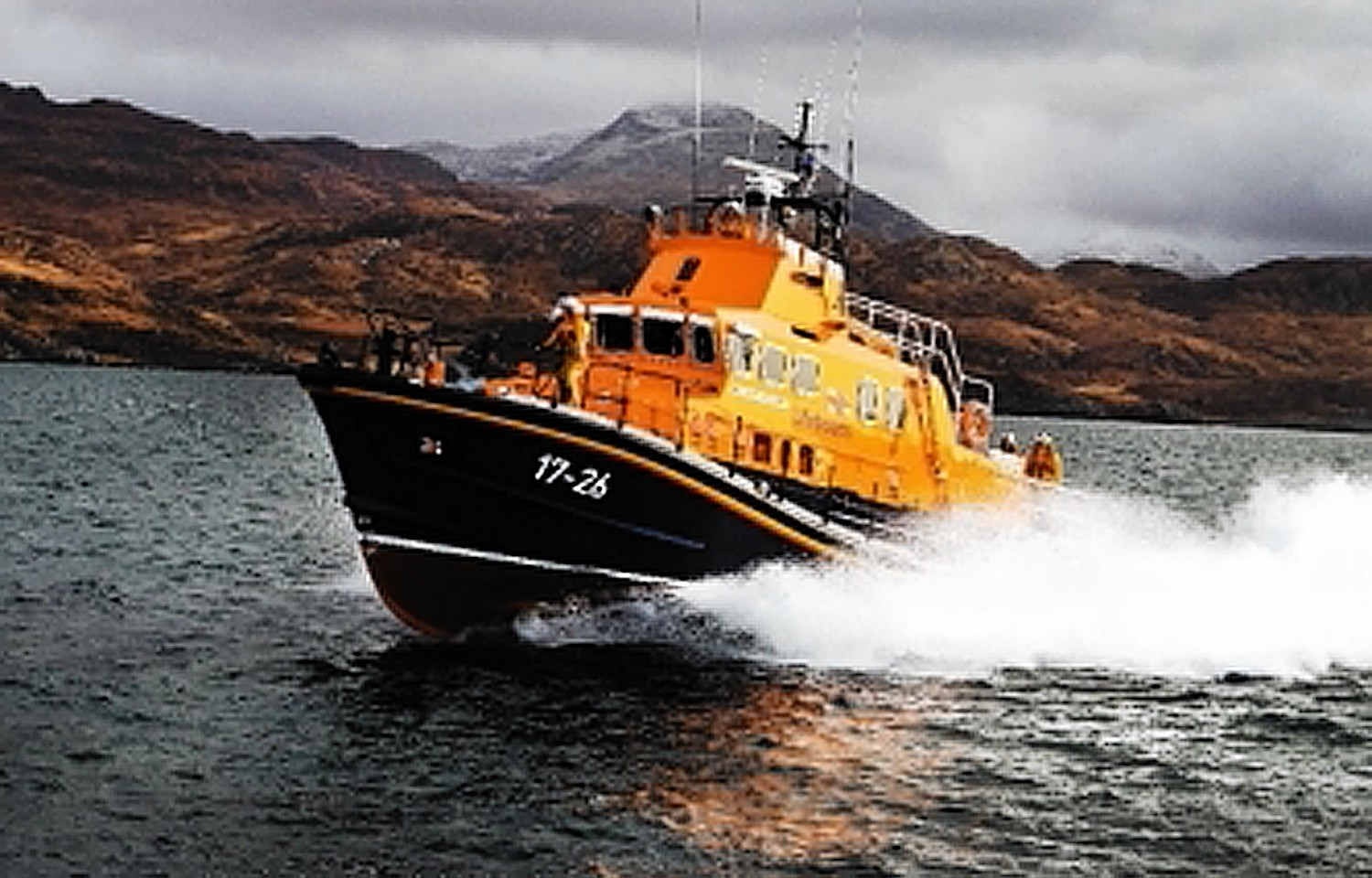 Mallaig Lifeboat was called to tow a fishing vessel taking on water