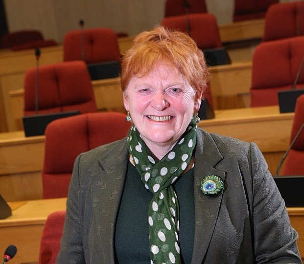 Highland Council leader Margaret Davidson.