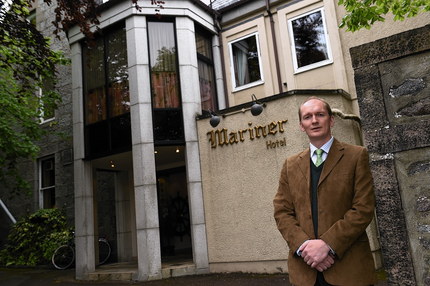 The Mariner Hotel owner Mike Edwards