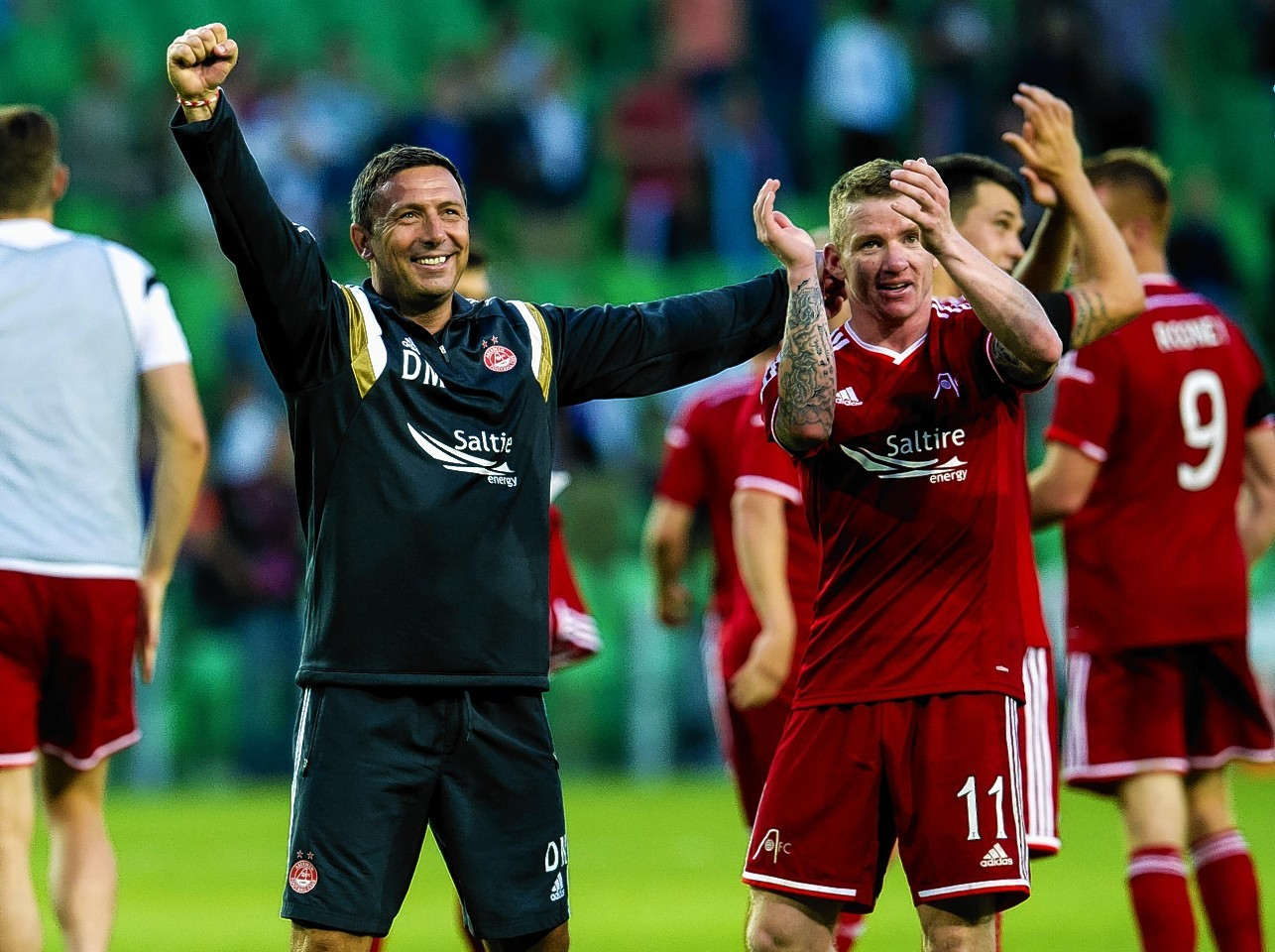 Derek McInnes was delighted to keep Jonny Hayes at the club.