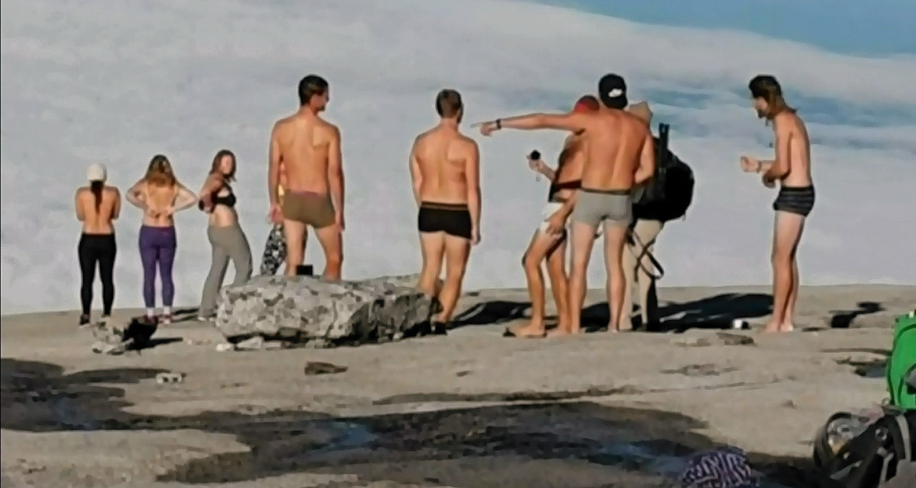 We are relieved: Tourists who stripped naked on sacred