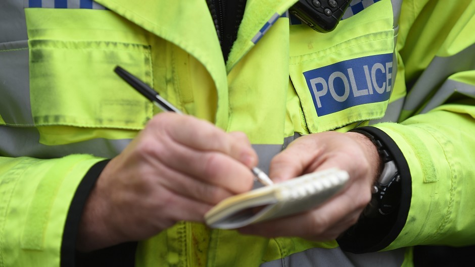 Police are investigating the attempted theft of lead from a church in Wick