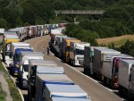The industrial action in Calais caused serious disruptions