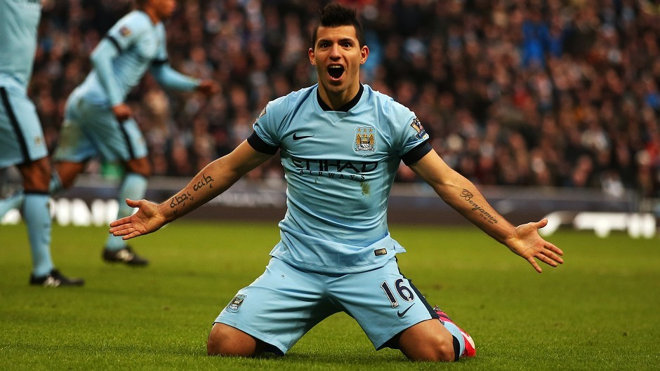 Sergio Aguero is John's captain this week.
