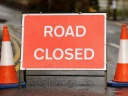 The road has been closed for most of the day