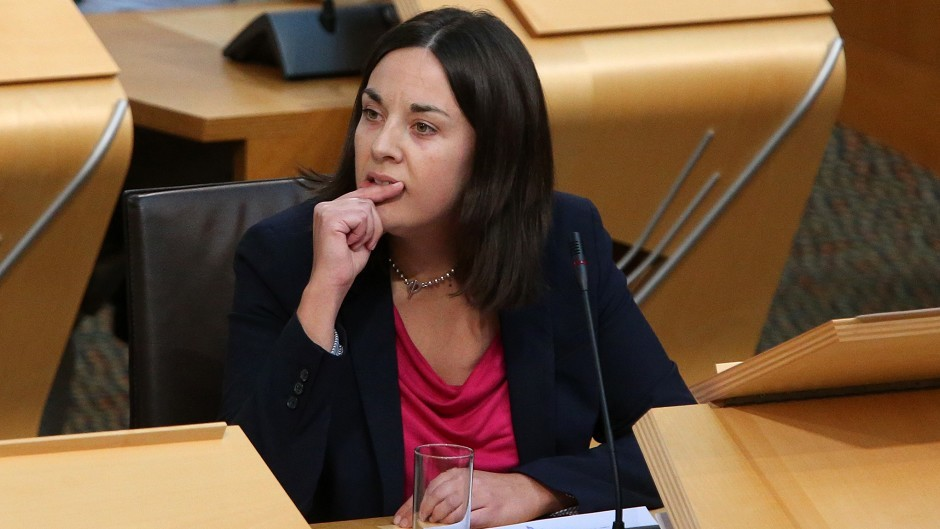 Kezia Dugdale faces competition from Eastwood MSP Ken Macintosh for the post of Scottish Labour leader