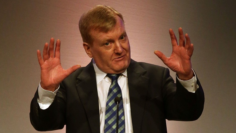 Former Liberal Democrat leader Charles Kennedy who died aged 55.