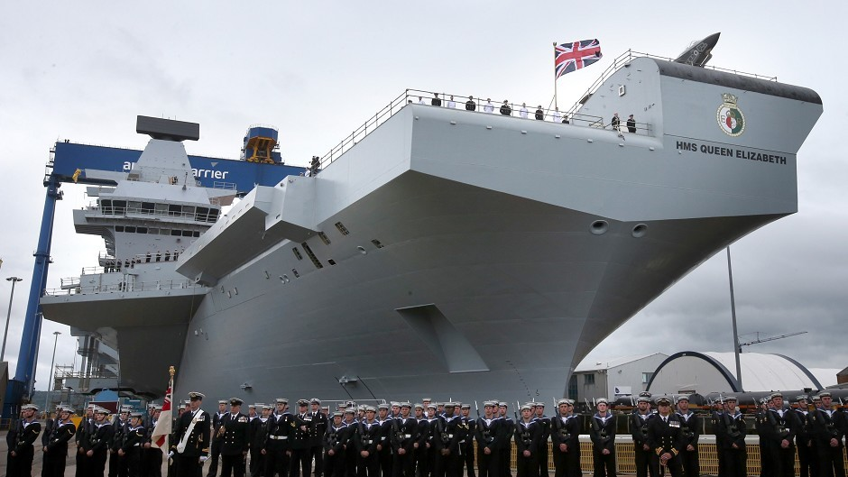Hms Queen Elizabeth Launch