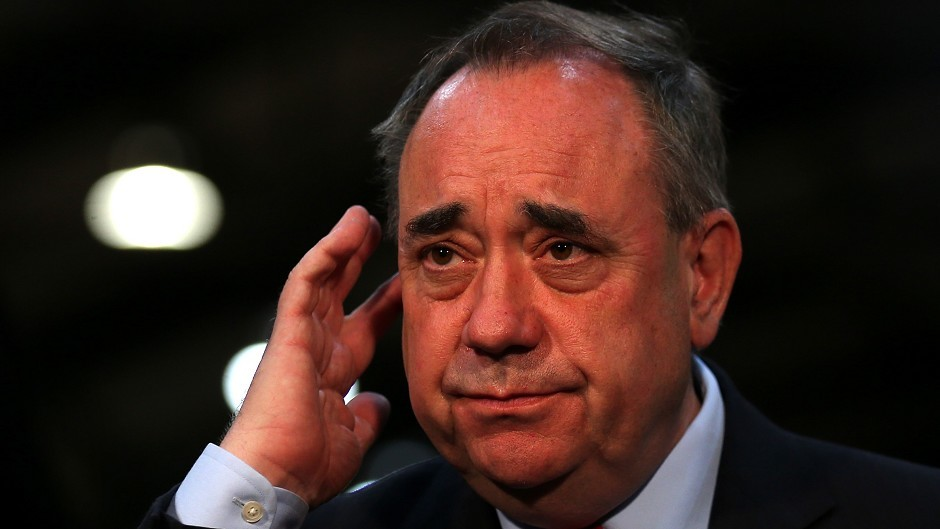 Alex Salmond will split his time between Westminster and Holyrood