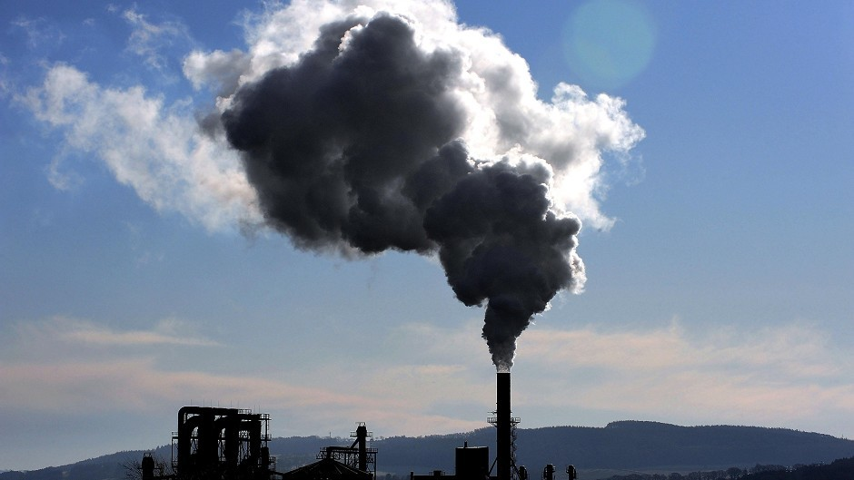 "Scotland has missed its ""ambitious"" greenhouse gas targets for the fourth year in a row."