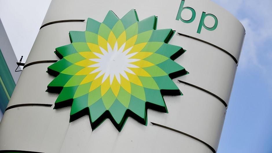 Demonstrators were protesting against industry giant BP