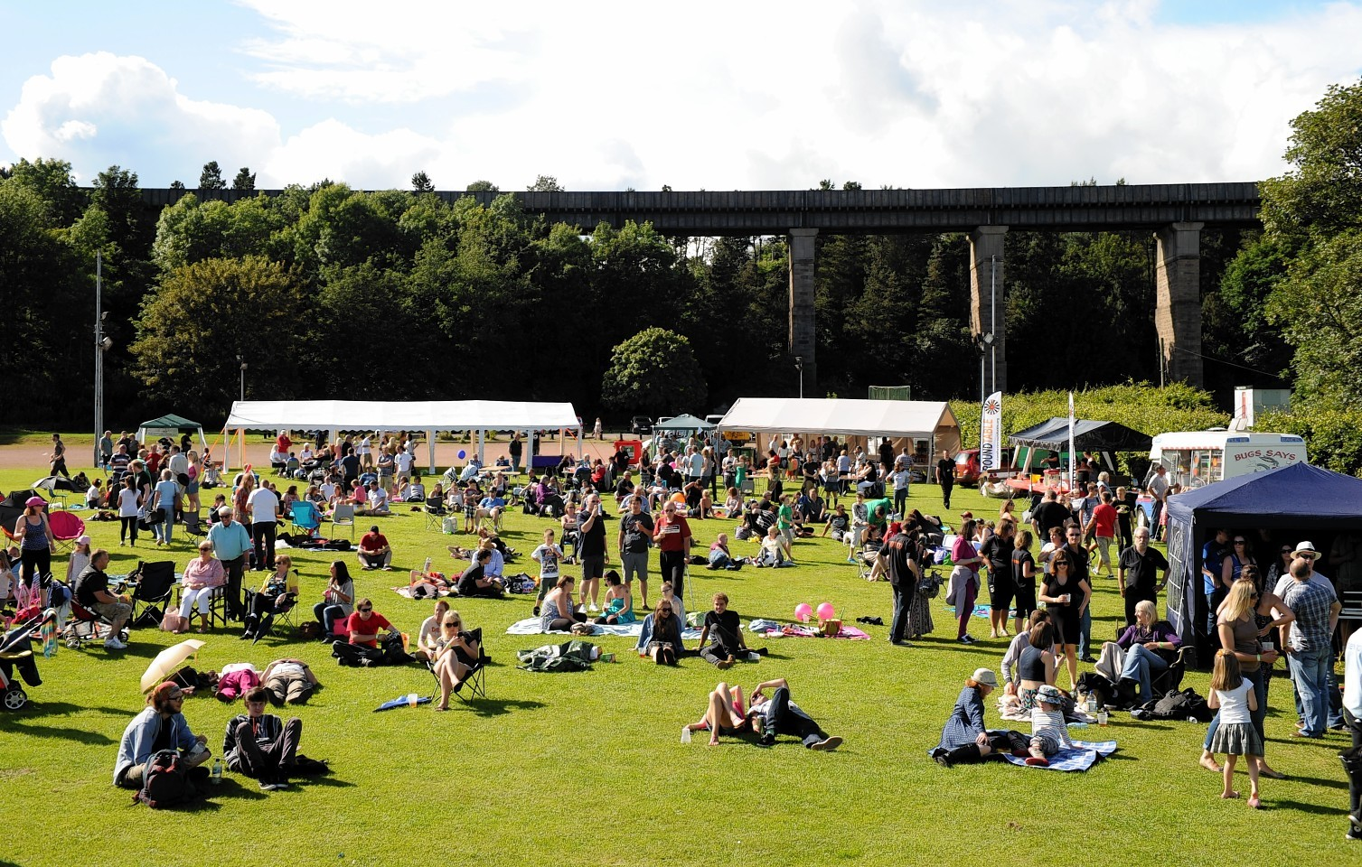 Stonehaven's Party in the Park will take place tomorrow