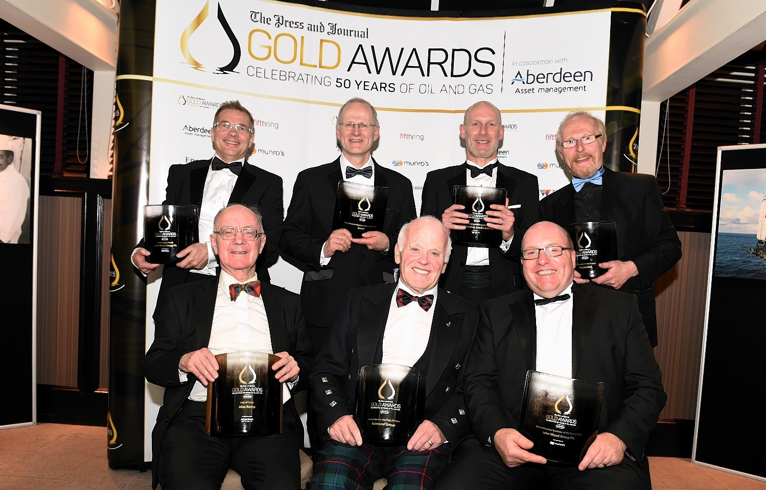 The winners at the Press and Journal Gold Awards