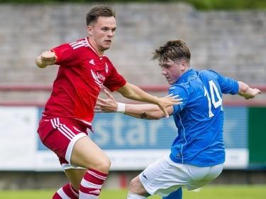 Dons forward Shankland joins Morton
