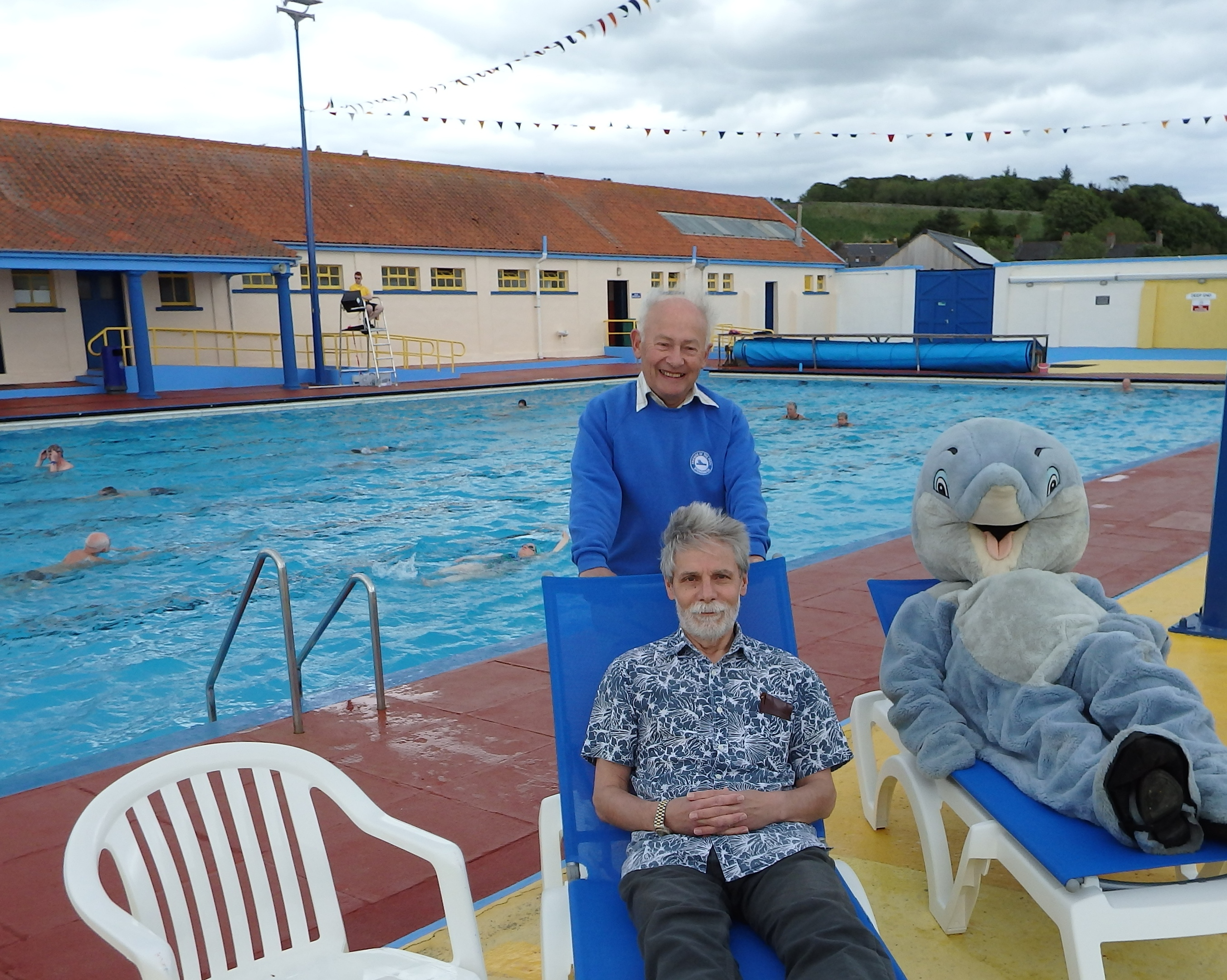 Friends of Stonehaven Pool, David Culshaw, and Douglas Samways