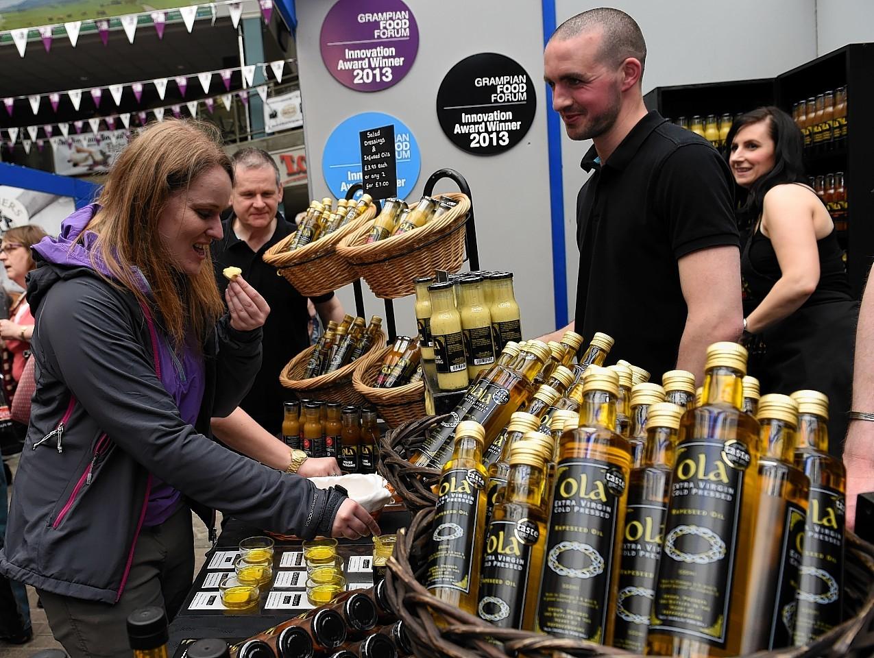 Taste of Grampian food and drink festival