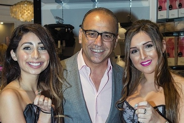 British retail magnate and entrepreneur Theo Paphitis opens his latest Boux Avenue store in Union Square, Aberdeen
