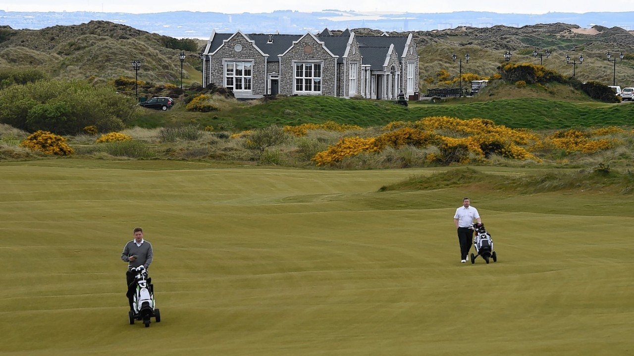 Donald Trump Golf Course Aberdeen Restaurant | Just In ...