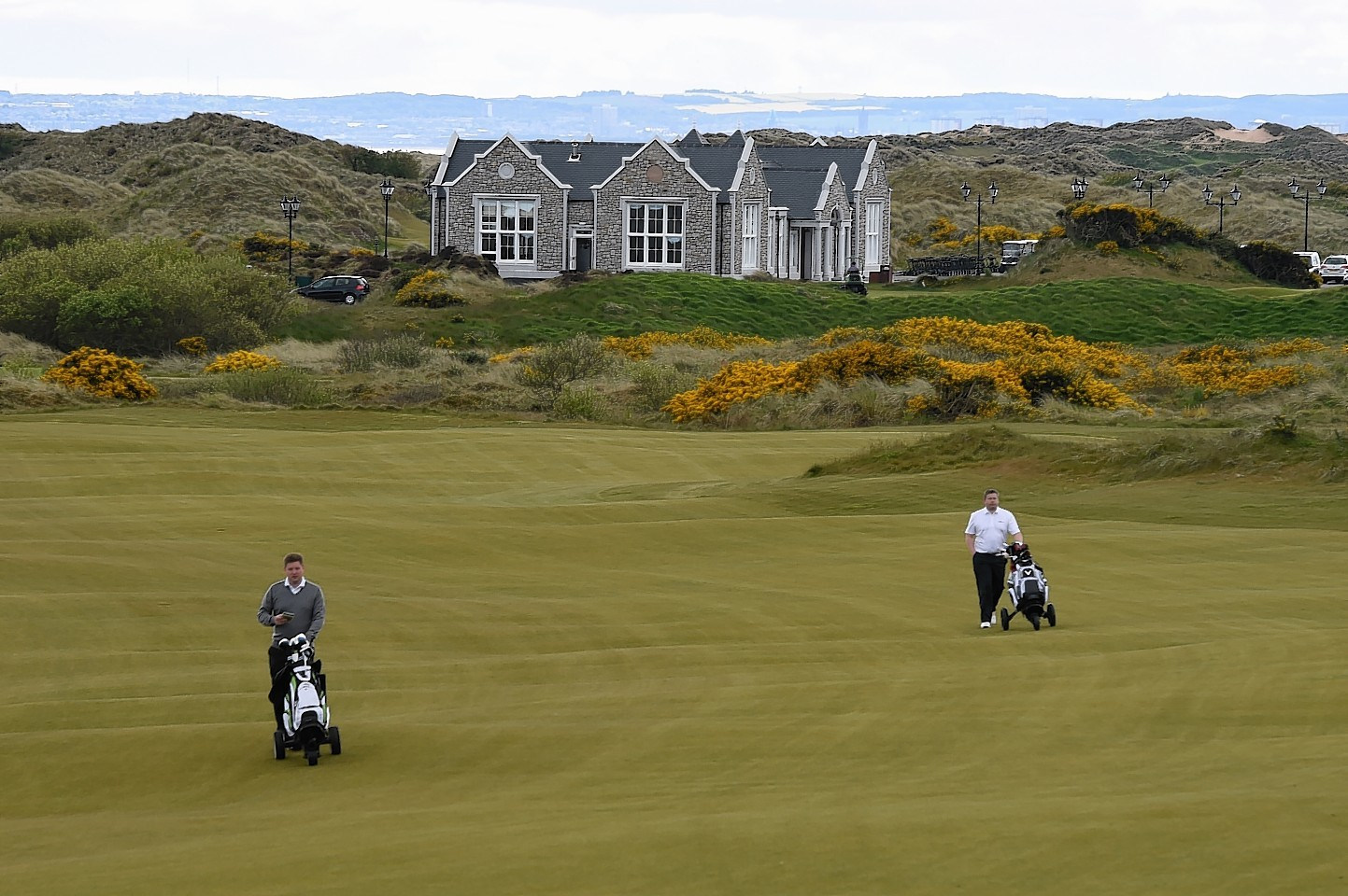 Donald Trump's Balmedie golf course to host Scottish Open ...
