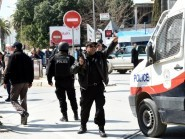 Tunisian security forces after gunmen attacked  Bardo Museum in March