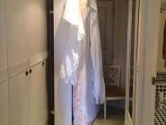 John Yeoman picture of his mattress blocking his hotel room door