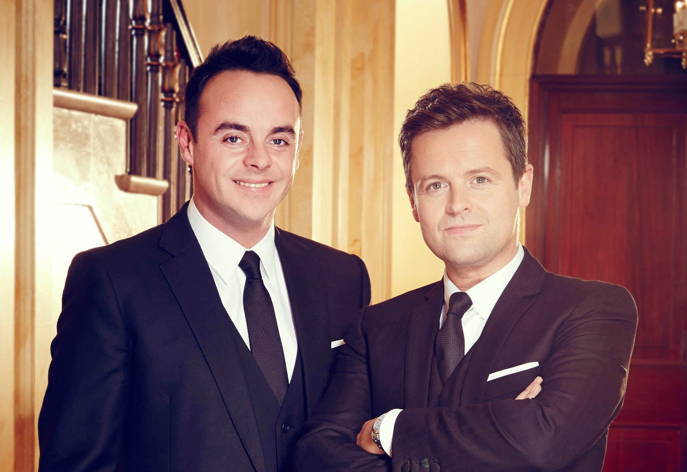 Ant and Dec, formerly known as PJ and Duncan