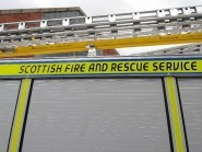 Fire crews were called to the A9 at Kingussie