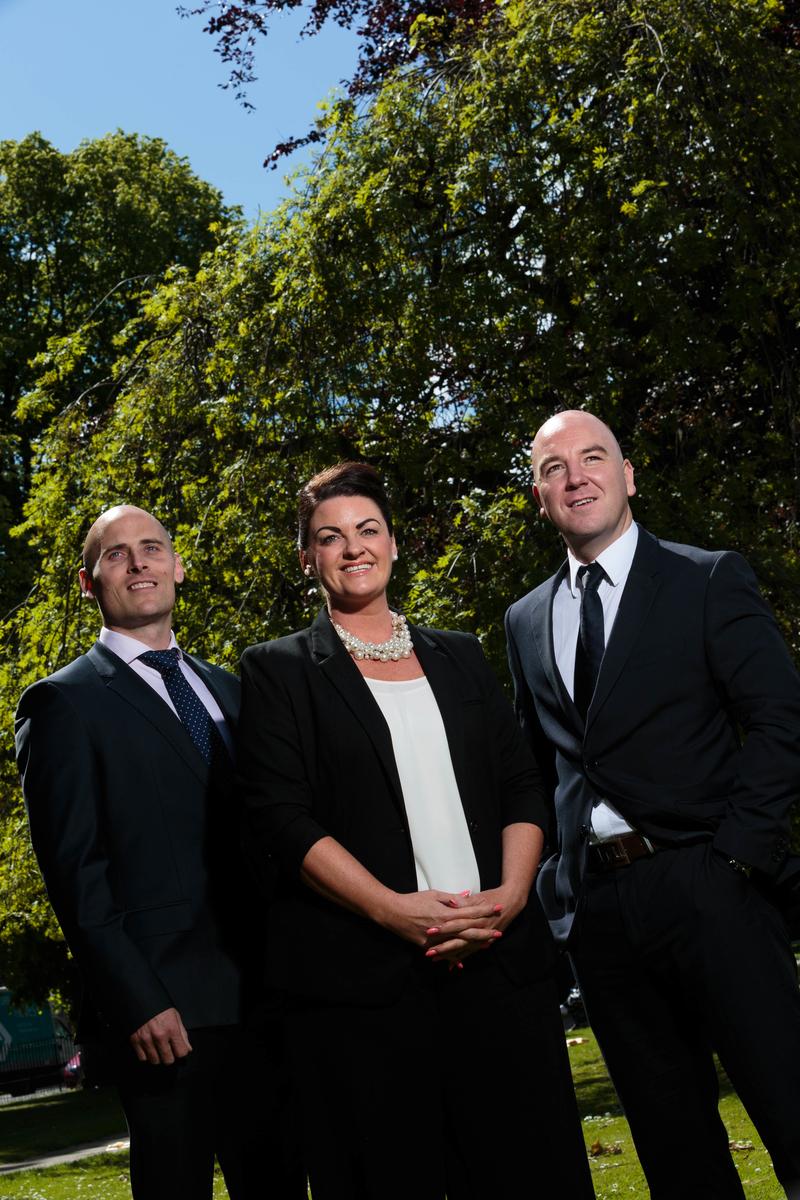 Craig Finnie, Lynne Duncan, Martyn Garvie