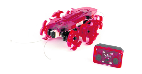 Forget the old-fashioned jigsaw and try the VEX robotics ant