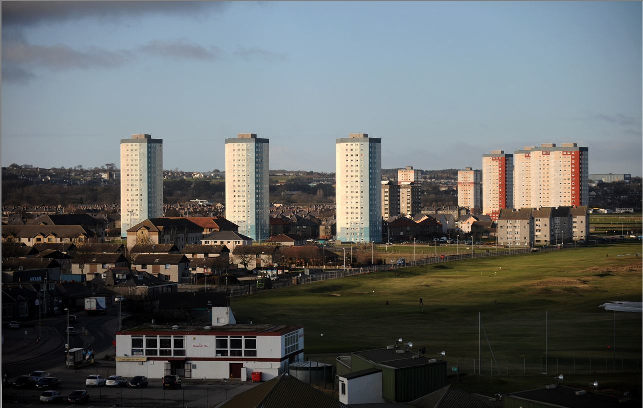 Seaton tower blocks are to receive a facelift