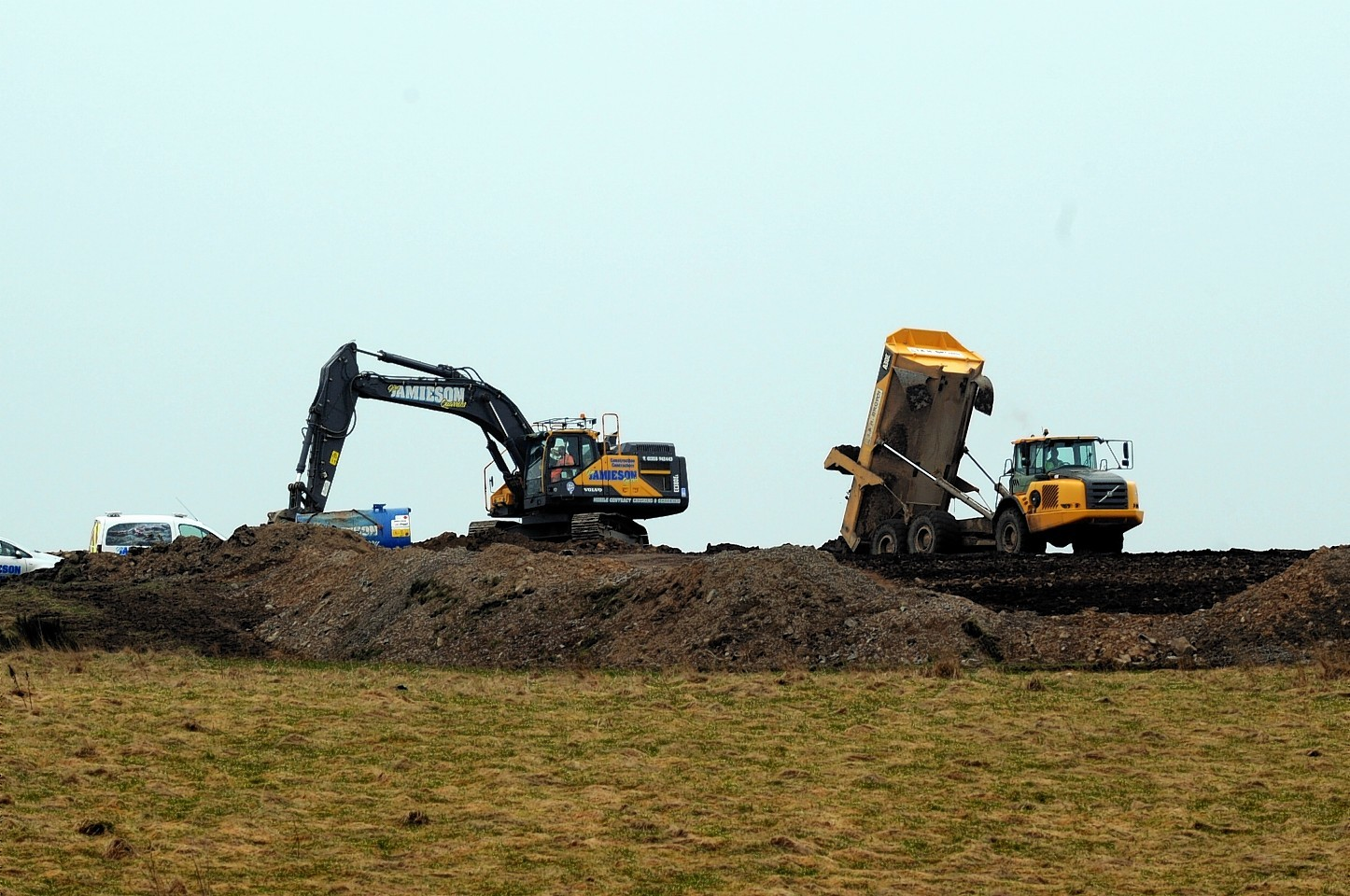 Aberdeenshire Council have launched an investigation into work at Bruntland, Whitecairns