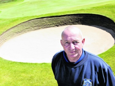 Bob Mackay, course manager at Murcar Links Golf Club, Aberdeen.
