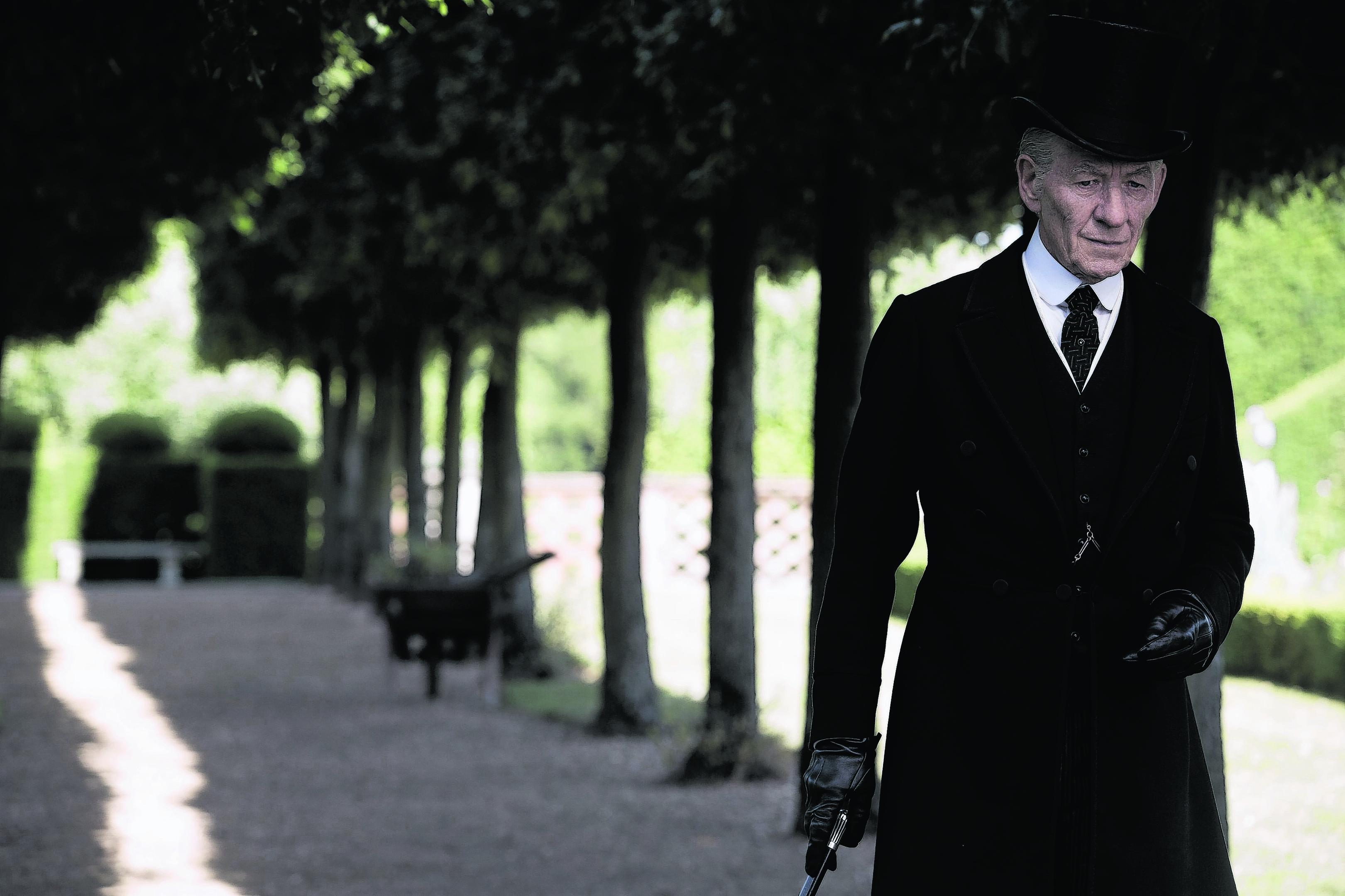 Sir Ian McKellen as Mr Holmes