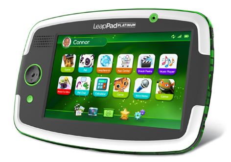 The LeapPad Platinum is perhaps the most 'tablet' like product for children out there