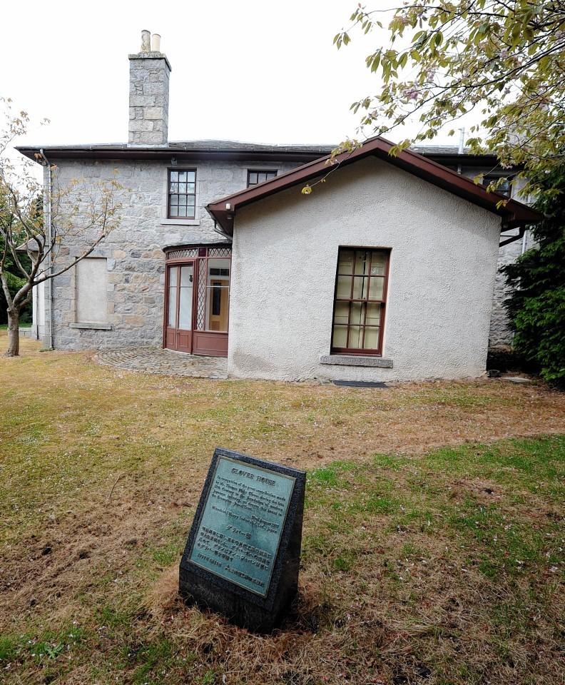 Thomas Blake Glover, the Scottish Samurai's house, in Bridge of Don